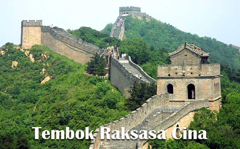 Foto Tembok Raksasa Cina