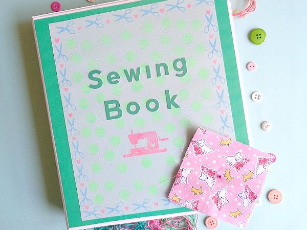 DIY: Sewing Storage Book