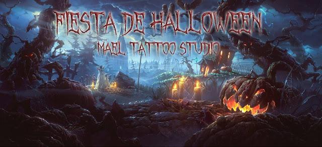 Fiesta de Halloween en Mael Tattoo - Lunes 31 de Octubre del 2016