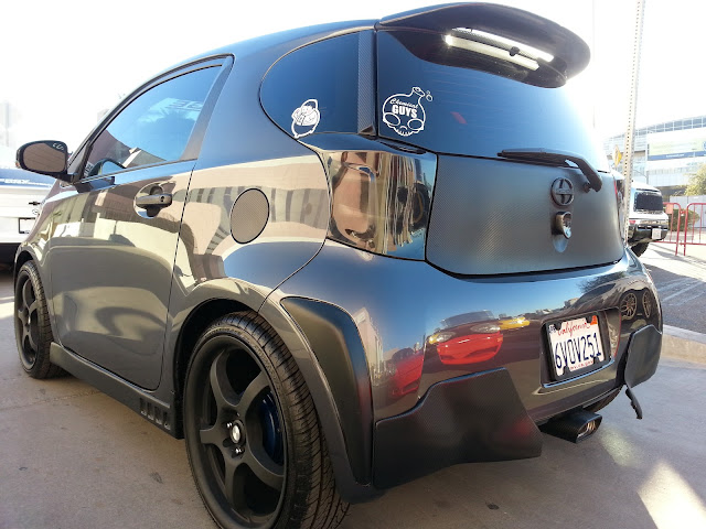 Custom Scion iQ exhaust