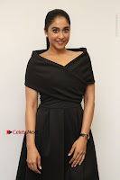 Actress Regina Candra Pos in Beautiful Black Short Dress at Saravanan Irukka Bayamaen Tamil Movie Press Meet  0029.jpg
