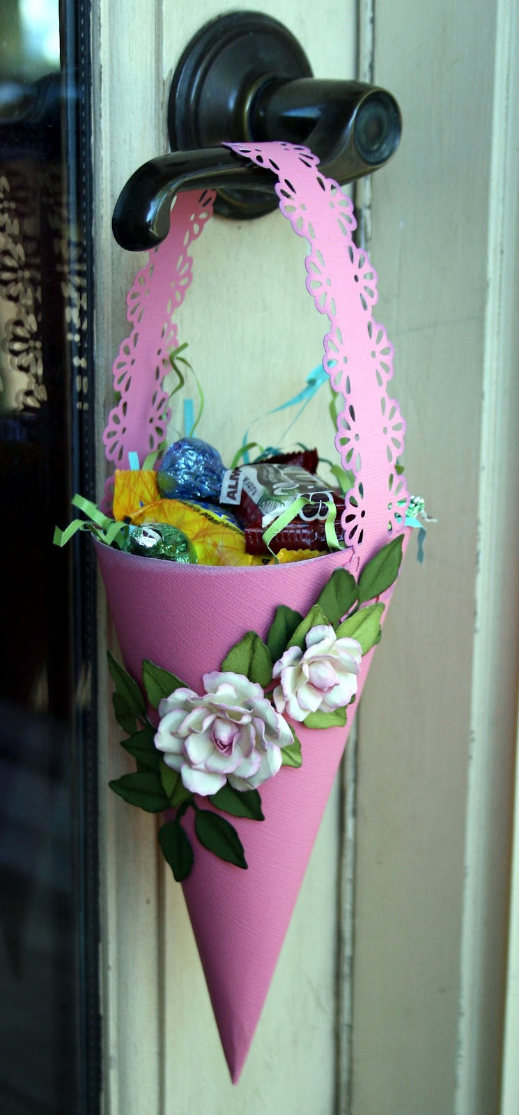 The Paper Variety Tutorial May Basket By Marcia