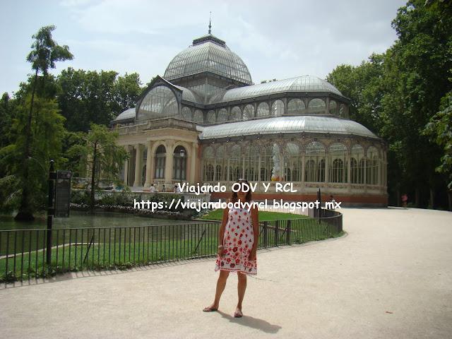Que hacer, a donde ir, que visitar en Madrid. Parque del Retiro. Palacio de Cristal