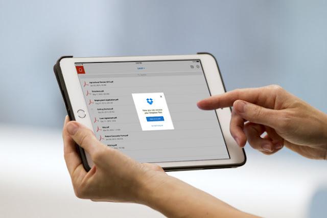 Adobe anuncia acordo de integração Dropbox PDF
