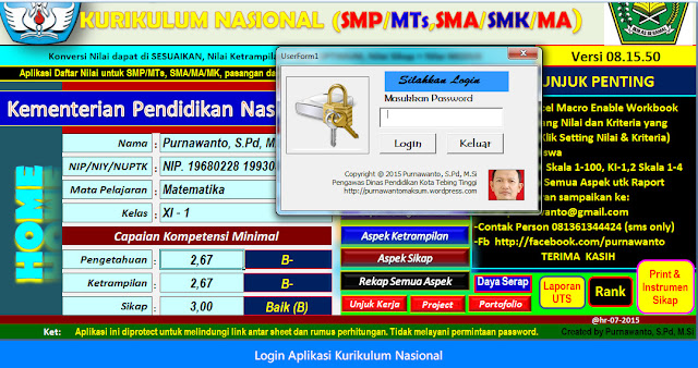 Aplikasi Kurikulum Nasional