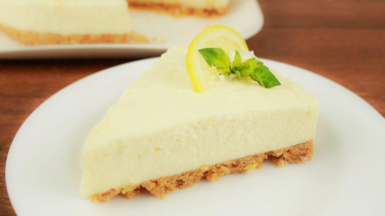 Receta de Cheesecake de Limón