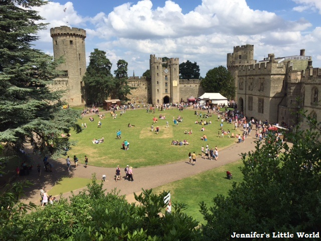 Family visit to Warwick Castle