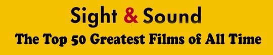 Las 50 Mejores Películas de todos los tiempos según Sight & Sound (2012)