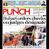 NIGERIA NEWSPAPERS: TODAY'S THE PUNCH NEWSPAPER HEADLINES [8TH JANUARY, 2018].