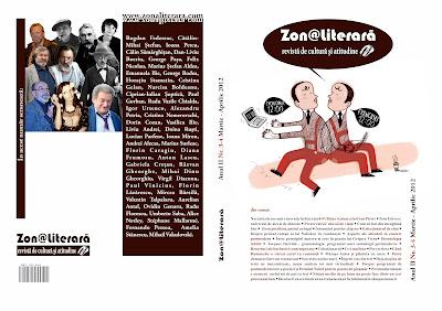 Invitaţie la lectură : revista Zon@ literară nr. 3-4/2012