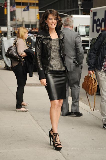 Blog Achados de Moda, Carmen Martins consultoria de estilo, como usar jaqueta de couro além do jeans