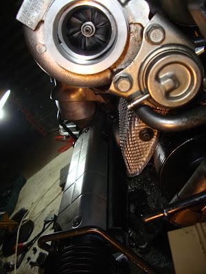 Perdida de presión del turbo