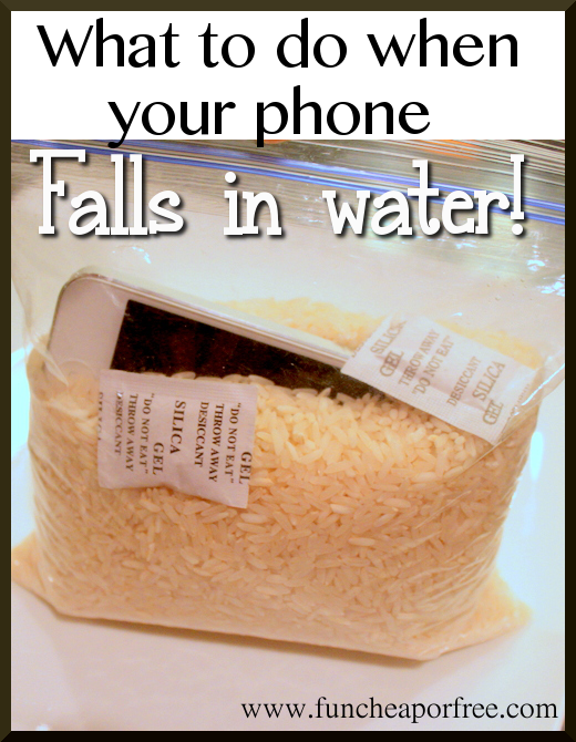 What To Do When You Drop Your Phone Or Ipod In Water Plus A Custom Iphone Case Giveaway
