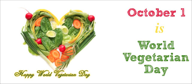 First October World Vegetarian Day is celebrated every year