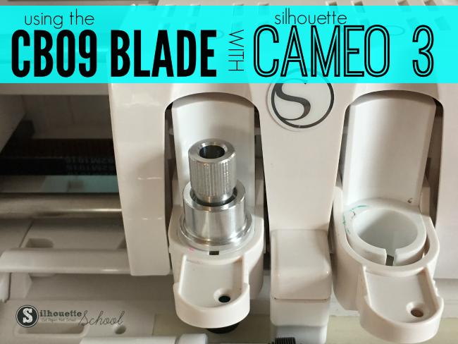 CB09 blade cameo 3, CB09 Blade silhouette cameo, silhouette cameo 3 blades