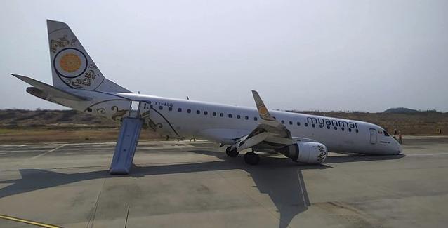 Βίντεο που κόβει την ανάσα: Αναγκαστική προσγείωση χωρίς τους μπροστινούς τροχούς!
