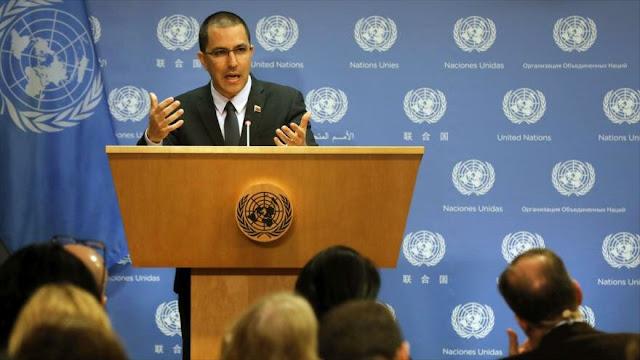 Arreaza condena a países que critican ayuda de Rusia a Venezuela