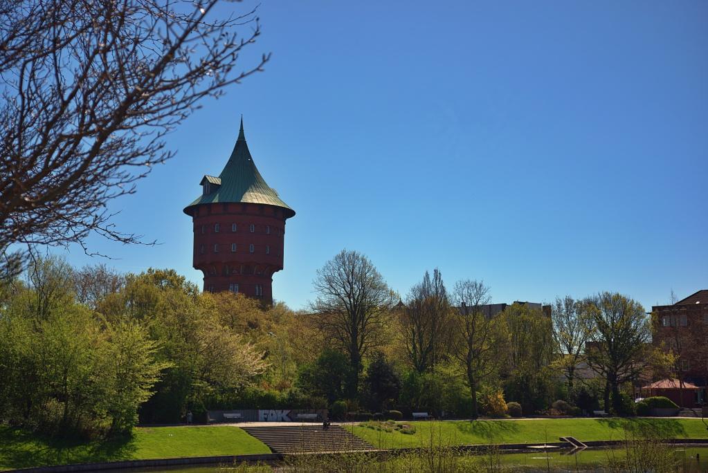 #276 Schneider-Kreuznach Componon-S f2.8 50mm - 1€ Projekt - Wasserturm von Cuxhaven