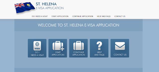 طلب فيزا سانت هيلينا أونلاين 1