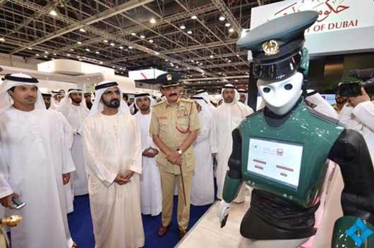 Presentación del `robot policía de Dubai