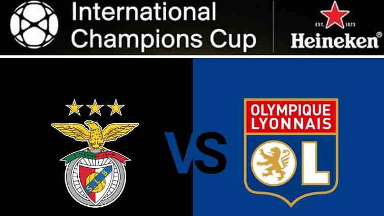 Hasil Sl Benfica vs Olympique Lyonnais Skor Akhir 2-3 [ICC 2018]