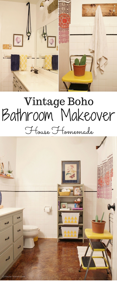Vintage Boho Makeover for under $85 | House Homemade