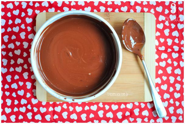 ganache de chocolate como fazer