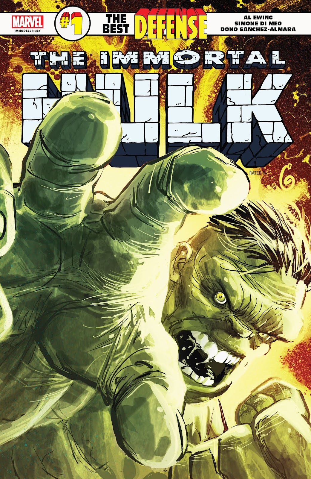 Immortal Hulk: The Best Defense issue Full - Page 1