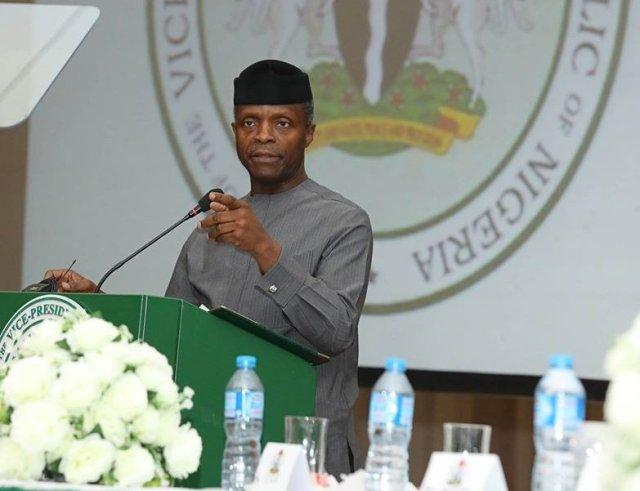 Vice President Prof. Yemi Osinbajo