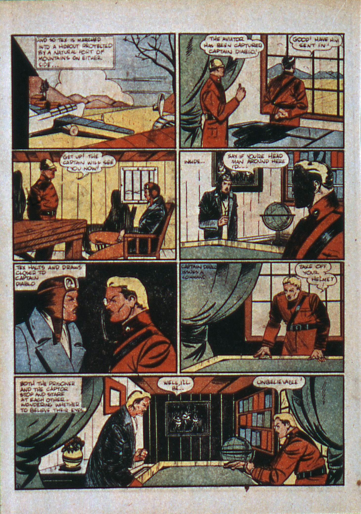 Read online Action Comics (1938) comic -  Issue #6 - 38