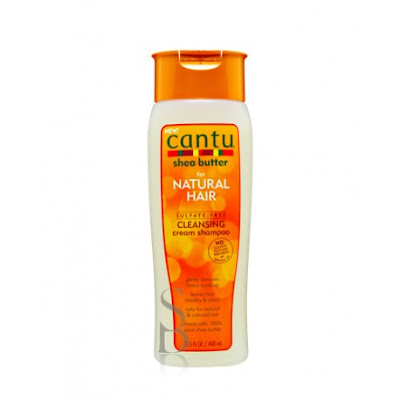 Cantu Shea Butter For Natural Hair Sulfate- Free Hydrating Cream Shampoo