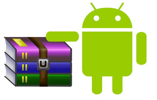 Cara Extrak file zip dan rar di android