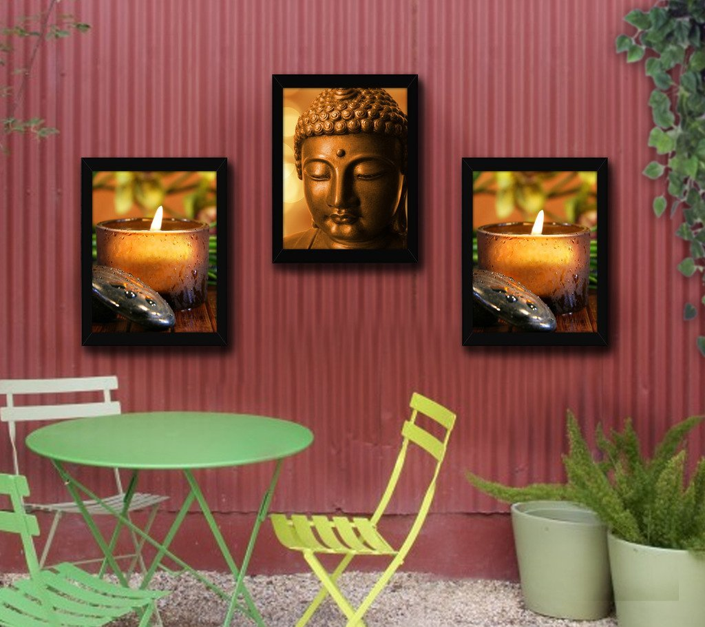 10 Amazing Buddha Wall Paintings to Decorate Your Home/Office