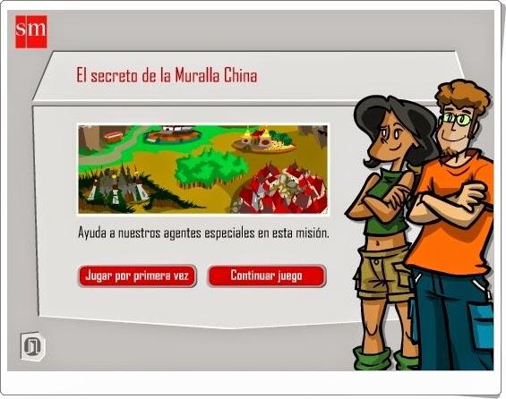 http://recursoseducativosdeprimaria.blogspot.com/2012/08/el-secreto-de-la-muralla-china-5.html