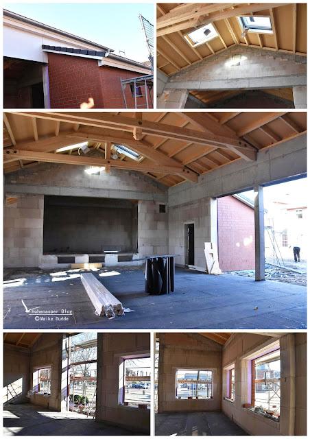 Bürgersaal im Bau Hohenapse