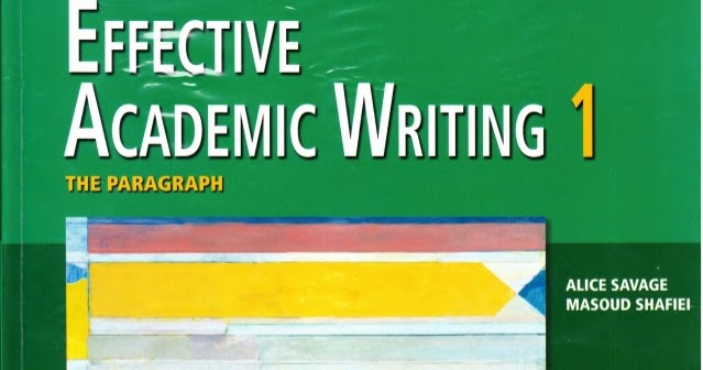 Effective academic writing 3 e-books free