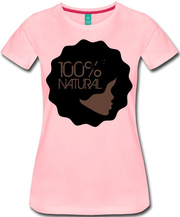 Click here to buy the 100% Natural Afro T-Shirt for the perfect Mother's Day gift!