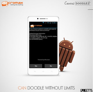 -Update Micromax Canvas Doodle 3 To Android 5.0 Lollipop
