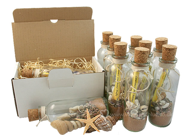 Message In A Bottle Wedding Invitations: We Request The Pleasure Of Your Company...