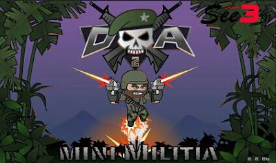 تحميل لعبة ميني ميليشيا  Doodle Army 2 Minister Militia1