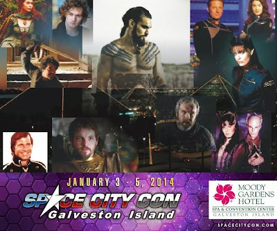 Space City Con Winter 2014 featuring the Stars of Game of Thrones, Babylon 5 & Buck Rodgers