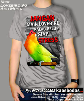 Kaos Lovebird 96