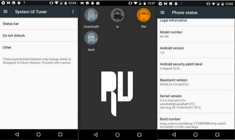 Install Android Nougat 7 0 Update For Redmi Note 4: Android Solve: How To Update Xiaomi Mi 4 To Android N 7.0