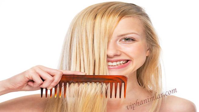 Islak Saçı Taramak -www.viphanimlar.com
