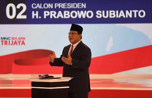 Prabowo Diklaim Tampil Jujur daripada Jokowi, BPN: Wapres JK Mengakui