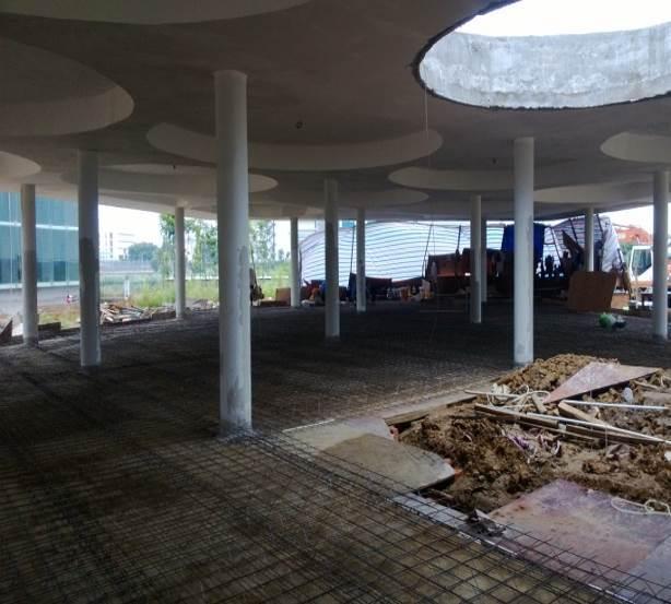 Nền nhà beton - Cốt thép 3D