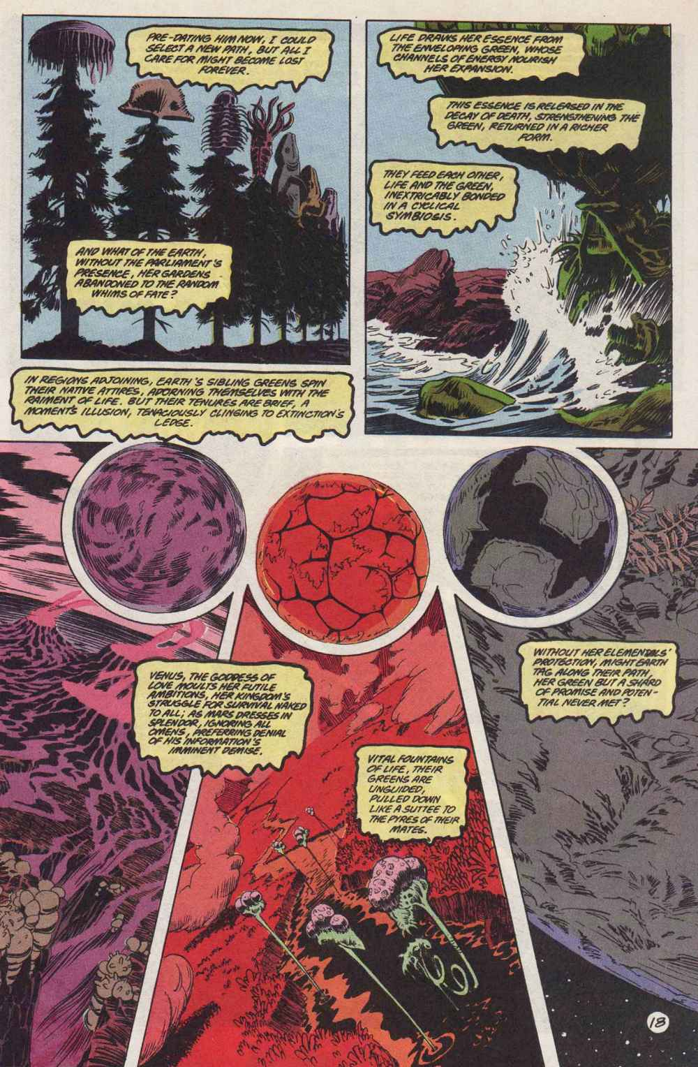 Swamp Thing (1982) Issue #89 #97 - English 19