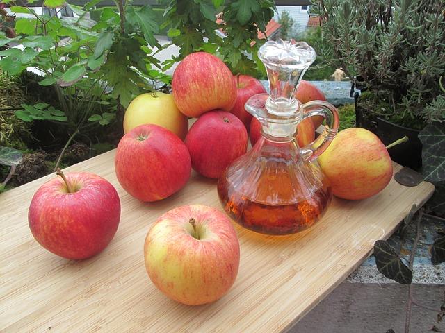 Cara Memutihkan Ketiak dengan cuka apel