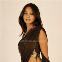 Anushka shetty in saree image