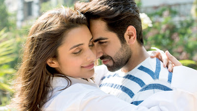 Meri Pyaari Bindu Couple Romance HD Wallpaper